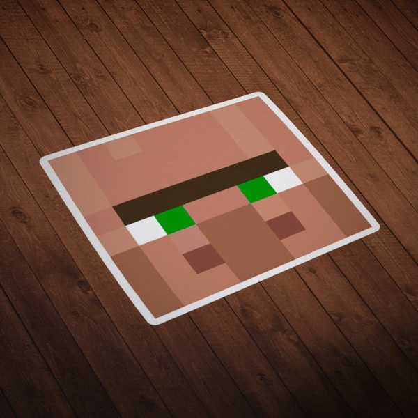 Wall Stickers: Minecraft Skin head 4