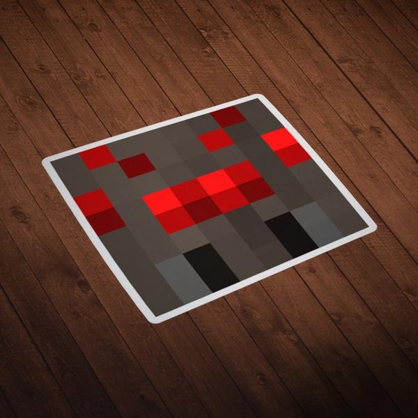 Wall Stickers: Minecraft Skin head 8