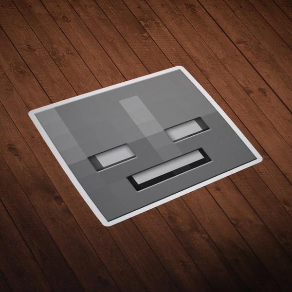 Wall Stickers: Minecraft Skin head 10