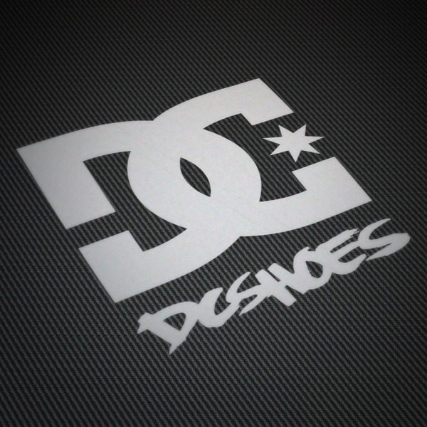 Car and Motorbike Stickers: DC SHOES USA 2