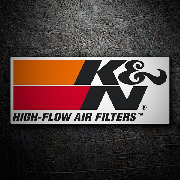 Car and Motorbike Stickers: K&N High-Flow Air Filters