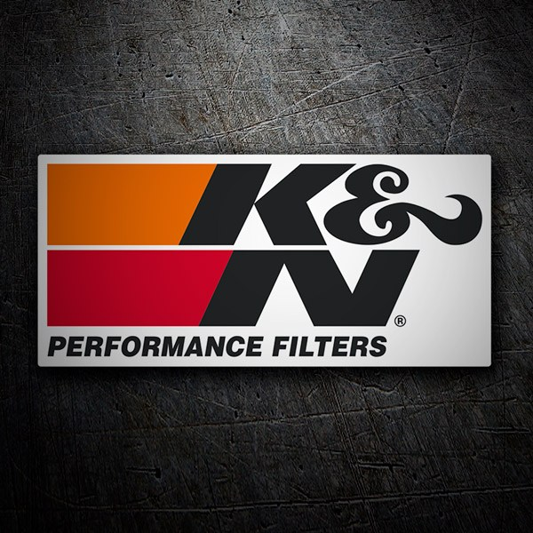 Car and Motorbike Stickers: K&N Peformance Filters