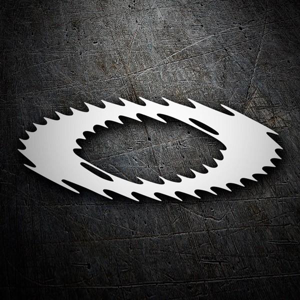 Car and Motorbike Stickers: Oakley logo