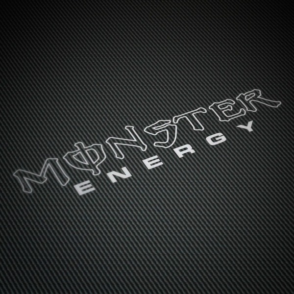 Car and Motorbike Stickers: Monster Energy 2