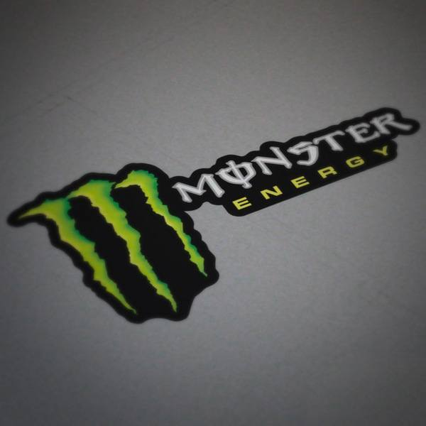 Car and Motorbike Stickers: Monster Energy 4