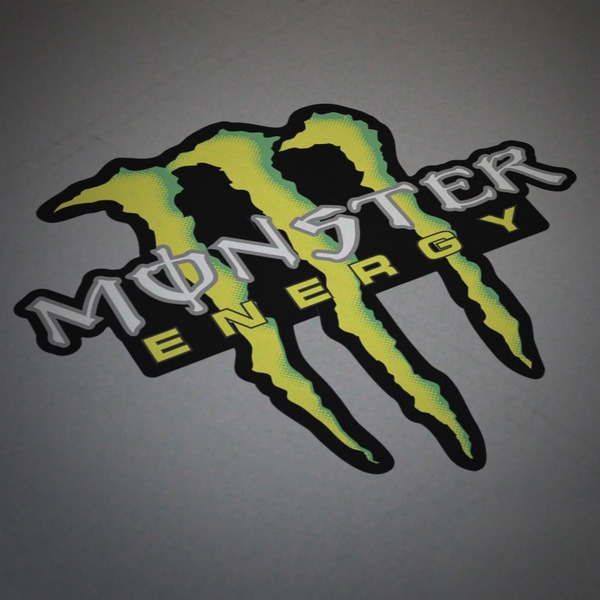 sticker monster energy 5. Black Bedroom Furniture Sets. Home Design Ideas