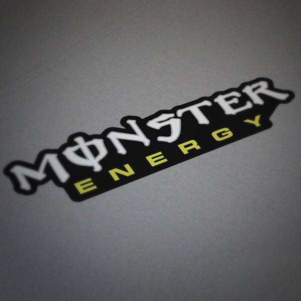 Car and Motorbike Stickers: Monster Energy 6