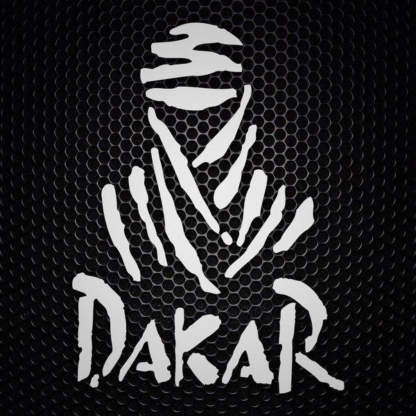 Car and Motorbike Stickers: Logo Dakar Rally
