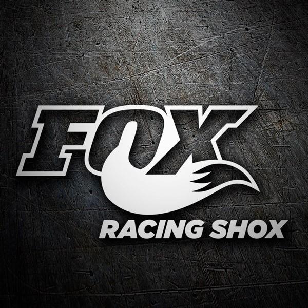 Car and Motorbike Stickers: Fox Racing Shox