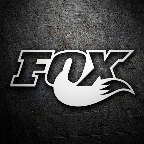 Car and Motorbike Stickers: Fox logo 3