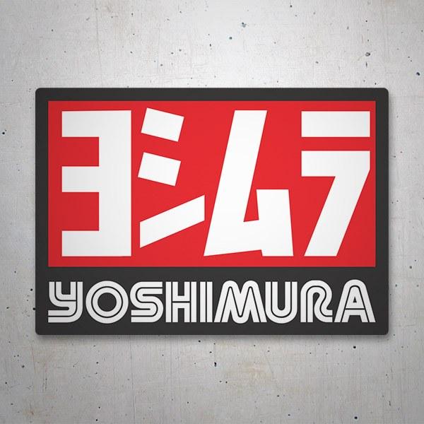 Car and Motorbike Stickers: Yoshimura 6
