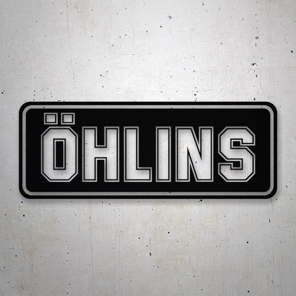 Car and Motorbike Stickers: Ohlins
