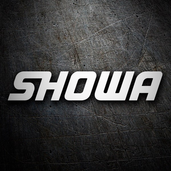 Car and Motorbike Stickers: Showa