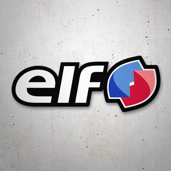 Car and Motorbike Stickers: Elf 5