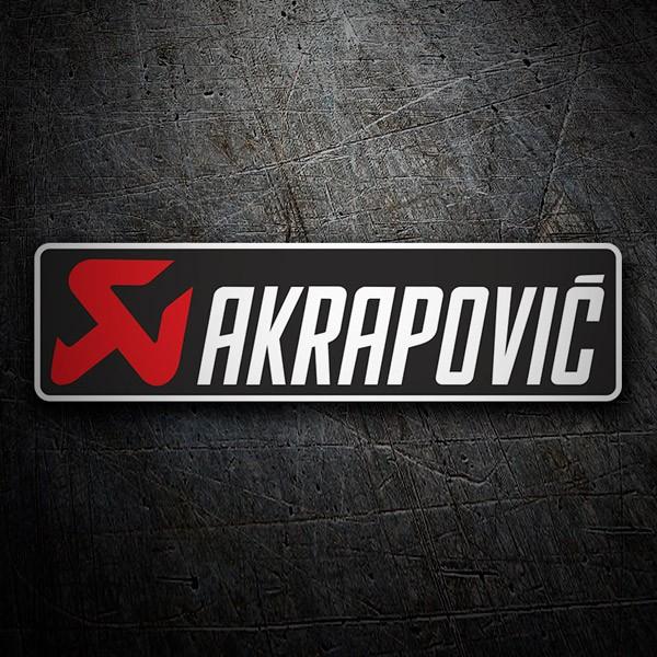 Car and Motorbike Stickers: Akrapovic