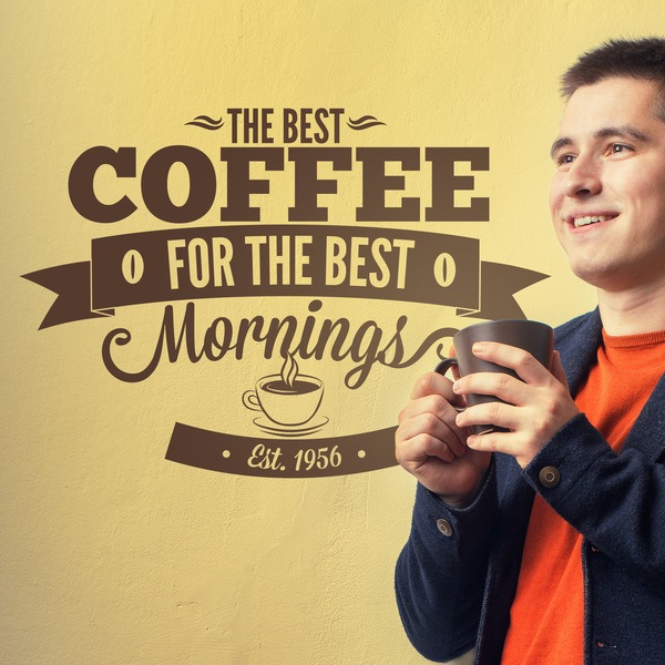 Wall Stickers: The Best Coffee for the Best Mornings
