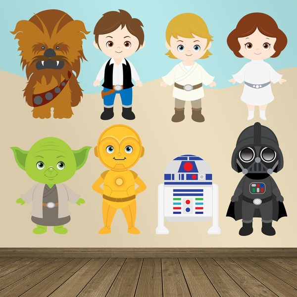 Stickers for Kids: Star Wars Kit