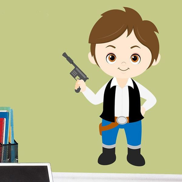 Stickers for Kids: Han Solo