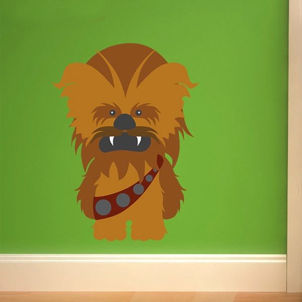 Stickers for Kids: Chewbacca