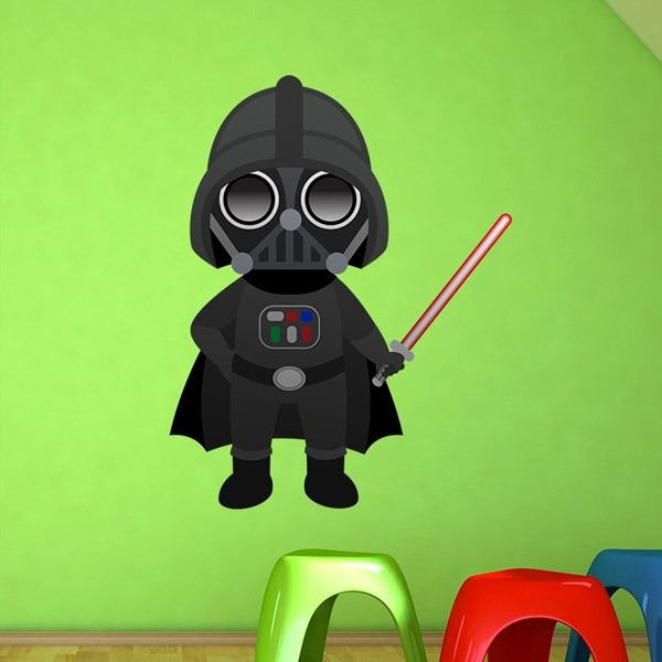 Stickers for Kids: Darth Vader