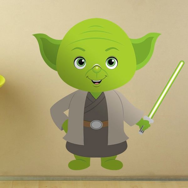 Stickers for Kids: Yoda