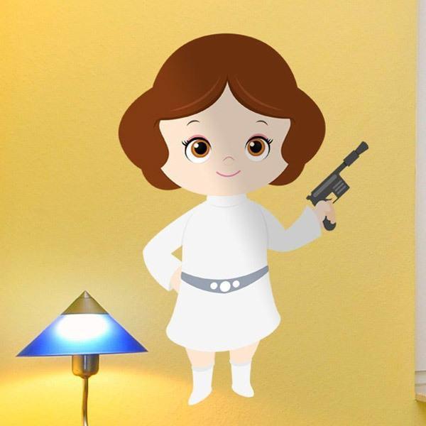 Stickers for Kids: Princess Leia