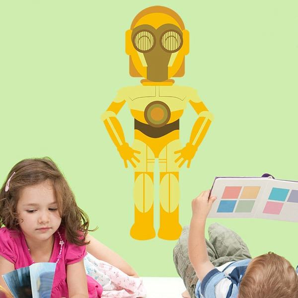 Stickers for Kids: C3po