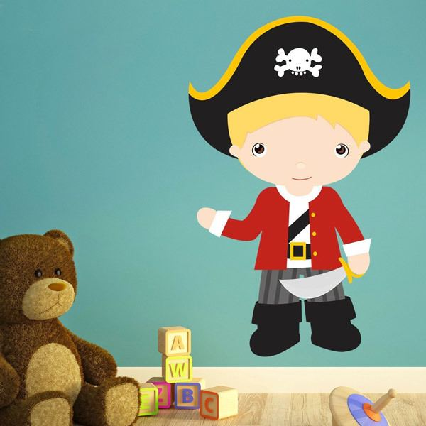Stickers for Kids: Blond captain