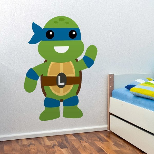 Stickers for Kids: Ninja Turtle Leonardo
