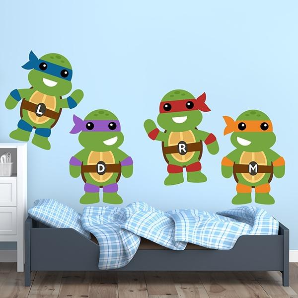 Stickers for Kids: Kit Ninja Turtles