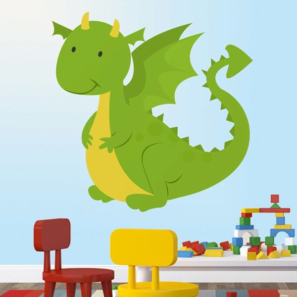 Stickers for Kids: Dragon