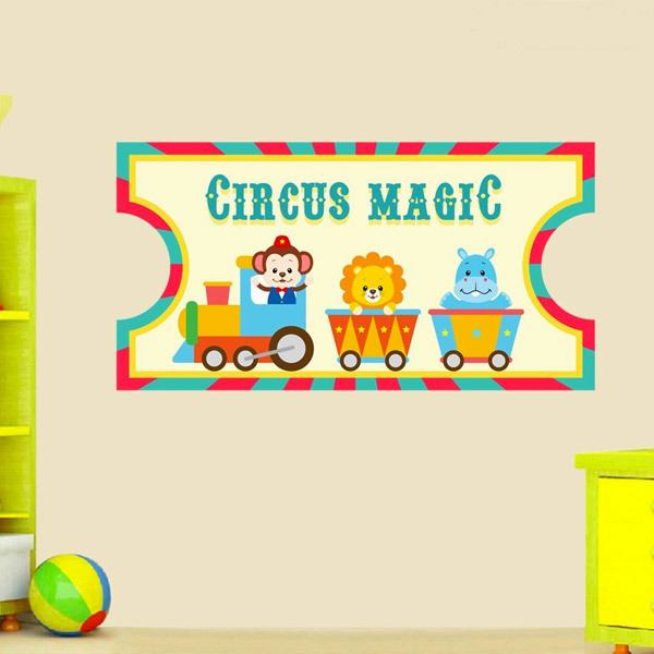 Stickers for Kids: Circus Ticket 2