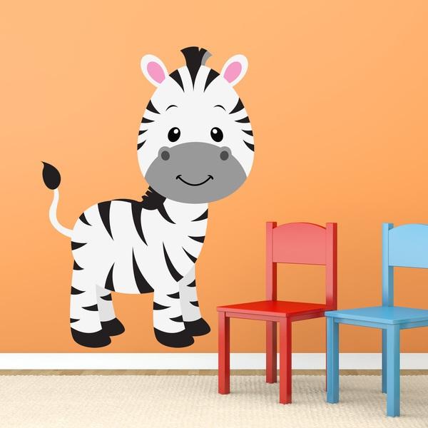 Stickers for Kids: Zebra Zoe