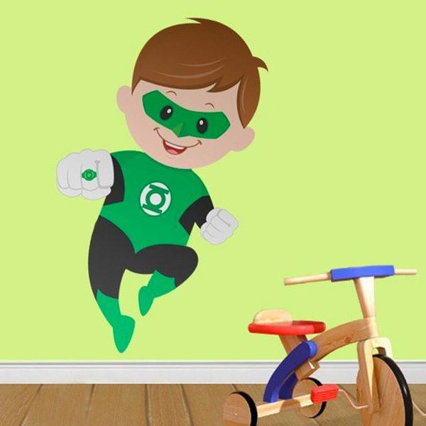Stickers for Kids: Green Lantern