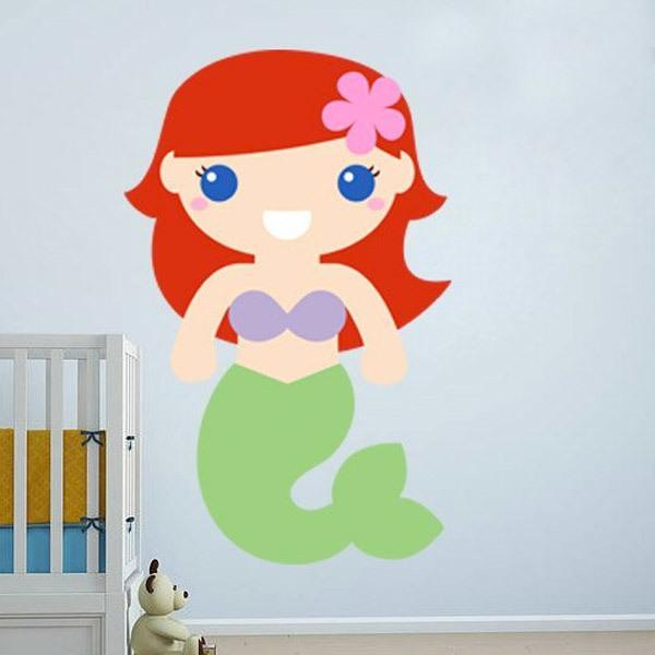Stickers for Kids: The Little Mermaid
