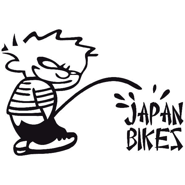 Car and Motorbike Stickers: Bad Boy Japan Bikes