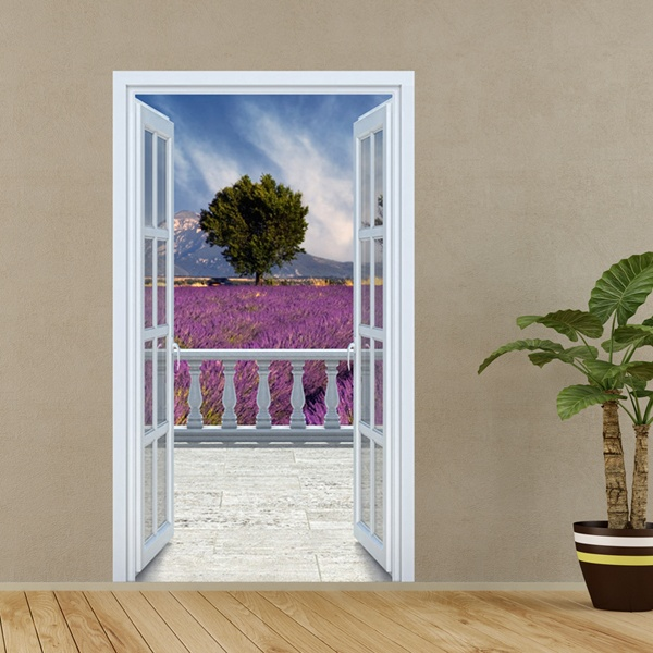Wall Stickers: Lavanda