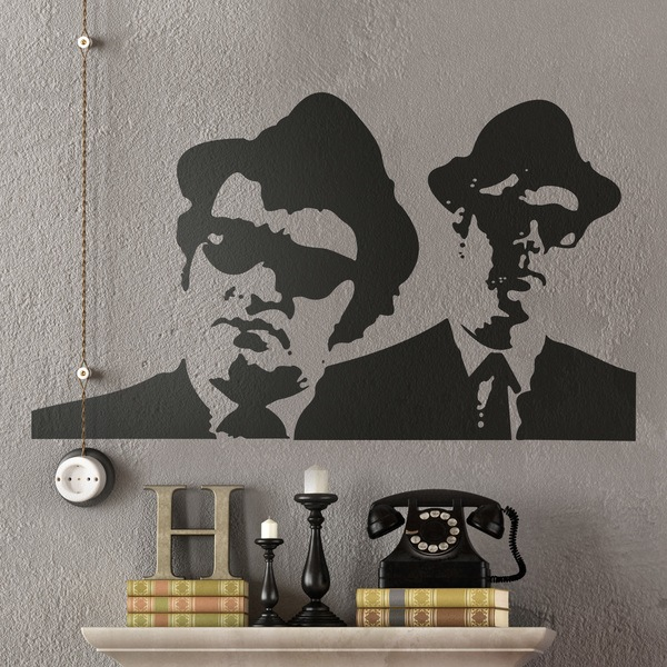 Wall Stickers: Blues Brothers