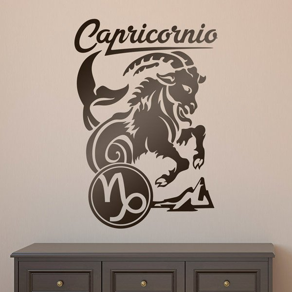 Wall Stickers: zodiaco 32 (Capricornio)