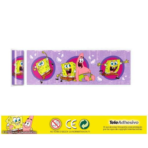 Stickers for Kids: SpongeBob Border