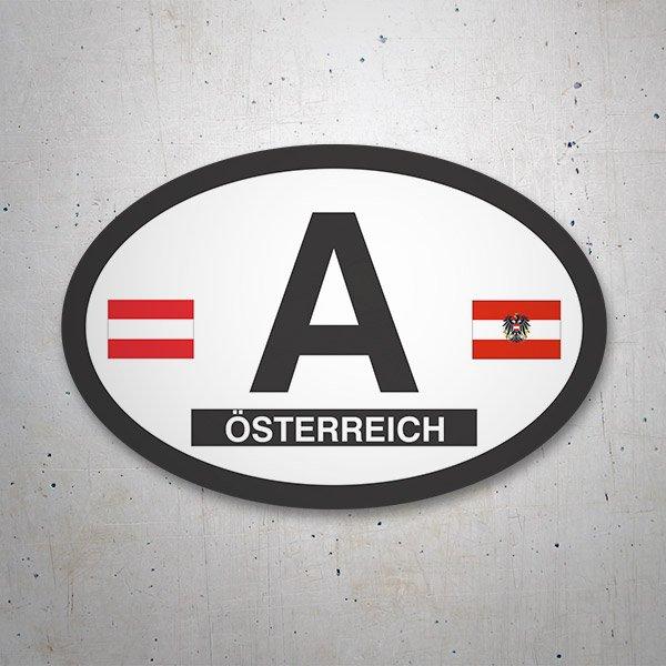 Car and Motorbike Stickers: Österreich