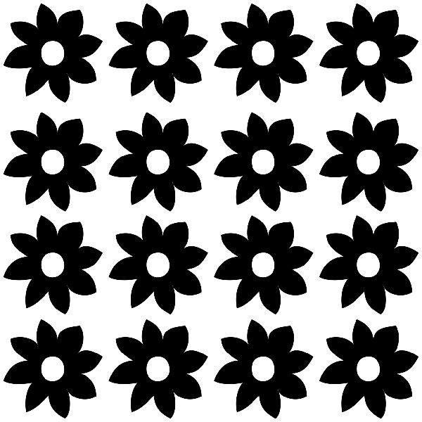 Wall Stickers: Hortensia winter