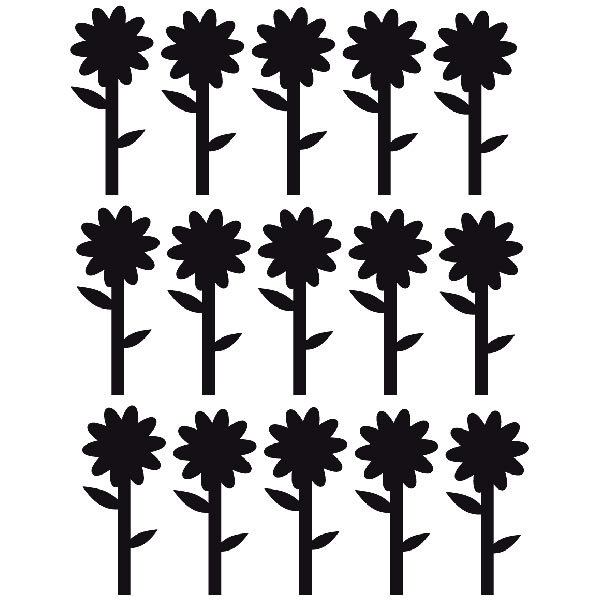 Wall Stickers: Sunflowers