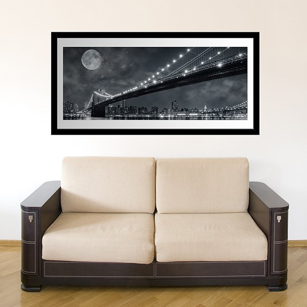 Wall Stickers: Big Bridge Nigth
