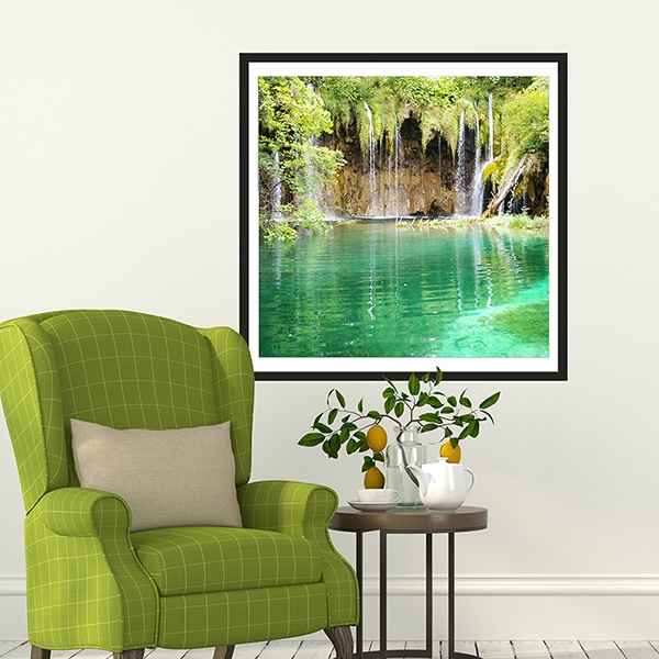 Wall Stickers: Natural Lake
