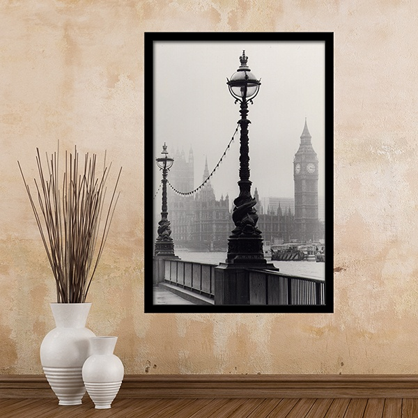 Wall Stickers: The London Fog