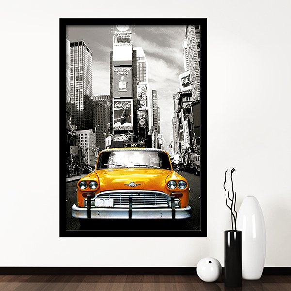 Wall Stickers: Taxi NYC