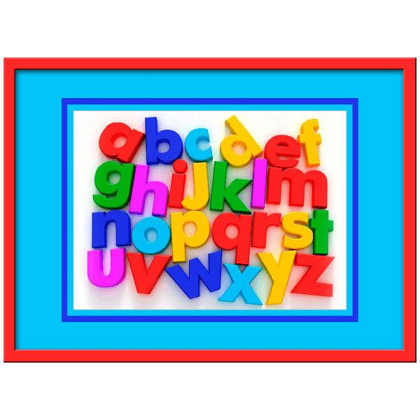 stickers for kids alphabet i wall alphabet decals reviews online shopping wall