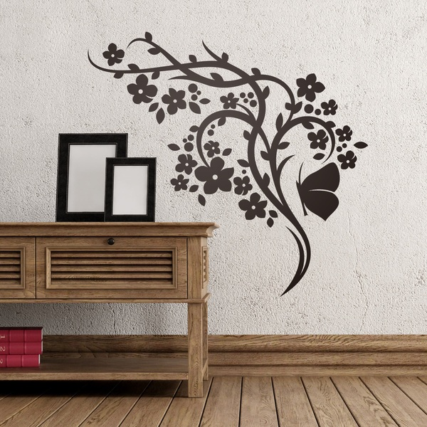 Wall Stickers: Floral 146