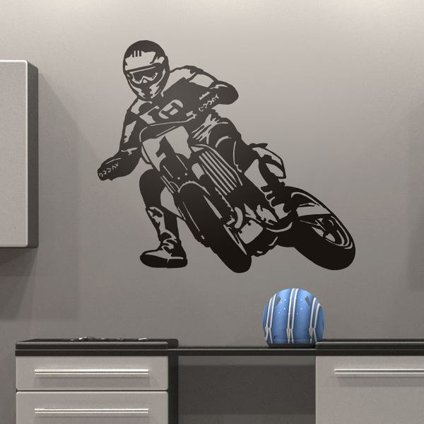 Wall Stickers: Moto Cross